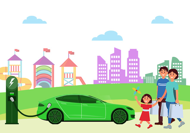 Vehicle-Green Loan at low rate and flexible repayment terms.